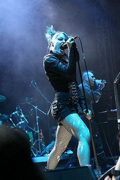 Lucia Cifarelli of KMFDM