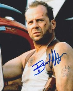 Bruce Willis Autographed Signed 8X10 Photo COA
