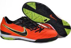 new product bd19c 9c0db Nike Total 90 Shoot IV TF Mens Astro Turf Soccer Shoes(Total Orange Black  Volt