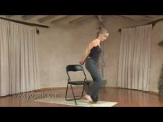 Gentle Chair Yoga Routine for Every Body - just do what feels good in your own body.