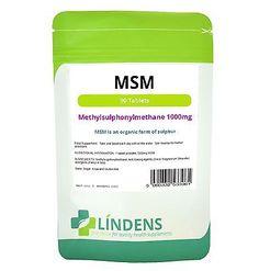 MSM (methylsulfonylmethane) 1000mg joint, hair & skin health (90 tablets) [3961] - https://www.trolleytrends.com/?p=600680