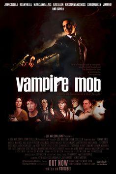 "Vampire Mob - 2012 - Joe Wilson   From ""Blending genres in web series (2): mockumentaries and found footage"" http://turningmillifwindbestill.wordpress.com/2012/11/20/blending-genres-in-web-series-2-mockumentaries-and-found-footage/"