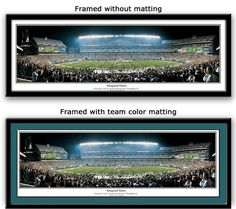 Philadelphia Eagles poster Lincoln Financial Field Print Inaugural game panoramic picture  https://www.myteamprints.com/