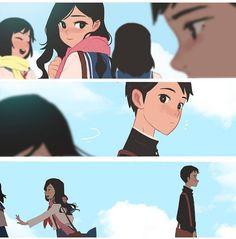 Anime Couples Crush Series on Behance - Kunstjournal Inspiration, Character Inspiration, Character Art, Character Design, Art Romantique, Art Mignon, Couples Comics, Romance Art, Cute Couple Art