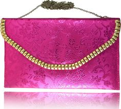 Comfty Party Pink Clutch | Buy Comfty Party Pink Clutch at Best Price in India | Flipkart.com