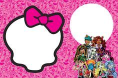 Free Monster High Party Invitations.