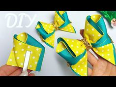 Lush bow tie of reps 4 see Alain Khoroshilova Ribbon Hair Bows, Girl Hair Bows, Princess Crafts, Big Bows, Girl Cakes, Diy Accessories, How To Make Bows, Felt Flowers, Hair Hacks