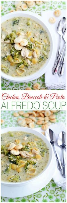 If you love traditional Alfredo then you will absolutely love this soup! When you mash two comfort foods together the deliciousn