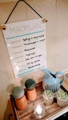 Gratis print til dig: Madplan og To Do oversigt. www.mamenohr.dk