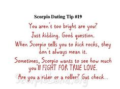 scorpio dating tips #11