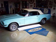 DREAM CAR. 67 MUSTANG CONVERTIBLE LIGHT BLUE ♥