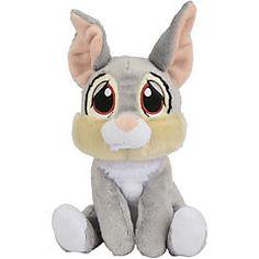 """Kennt Ihr noch Klopfer, den niedlichen Hasen aus dem Disney-Film """"Bambi""""?  Dieser Klopfer hier von Simba ist aus Plüsch und  kuschelweich."""