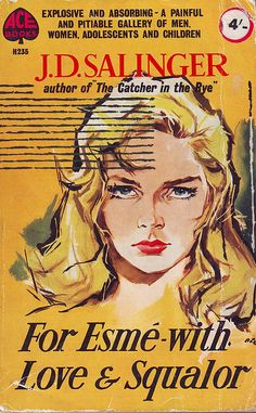 """cover of j.d. salinger's short story, """"for esme - with love and squalor,"""" 1960"""