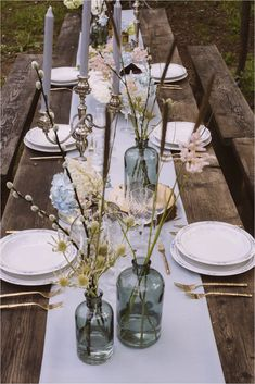 The Best 50+ Wedding Table Setting Inspiration https://bridalore.com/2017/12/15/50-wedding-table-setting-inspiration/