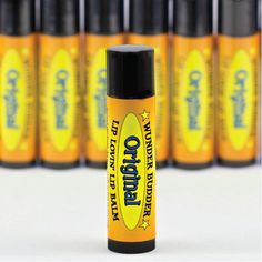 "Unscented ""Original"" beeswax lip balm, with calendula oil. 100% Natural, 100% Awesome."