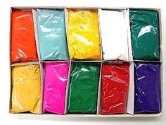 Amazon.com: Festival Colors (Rangoli) Holi High Quality Colors (Pack of 10): Everything Else NEED TO GET THIS