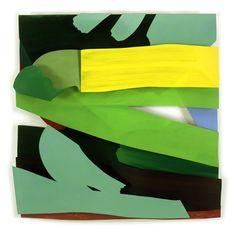 Electric Wind - The Estate of Tom Wesselmann - Oil on cutout aluminum