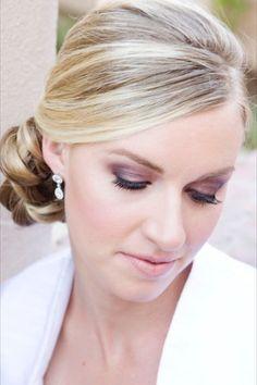 I like the eyeshadow Makeup Style Inspiration, Wedding Hair & Beauty Photos by Swell Beauty