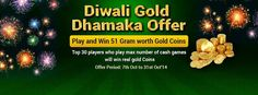 Check out Diwali Gold Dhamaka Offer to win 51 Gram worth Gold Coins at : https://www.classicrummy.com/diwali-gold-dhamaka-offer?link_name=CR-12