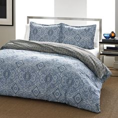 City Scene Milan Blue Duvet Cover Set, Full/Queen * More info could be found at the image url. Blue Comforter Sets, Blue Duvet, Duvet Sets, Duvet Cover Sets, Twin Comforter, King Duvet, Queen Duvet, Milan, Shabby
