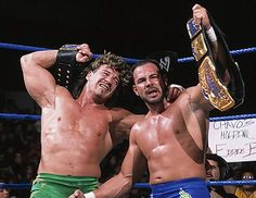"""Our dream was not to be the heavyweight champion of the world. Our dream was to be the tag team champions of the world… When we actually achieved that dream in Madison Square Garden of all places, at Survivor Series… it was our dream."" –Chavo Guerrero on winning the WWE Tag Team Championships with his uncle Eddie; Two Man Power Trip (8/15/15)"