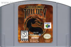 Mortal Kombat Trilogy N64 $25