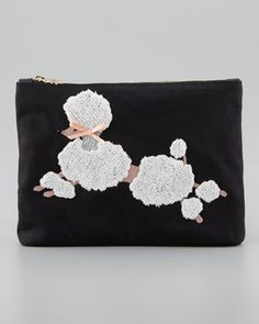 Poodle Purse Clutch by Charlotte Olympia at Neiman Marcus USD 495