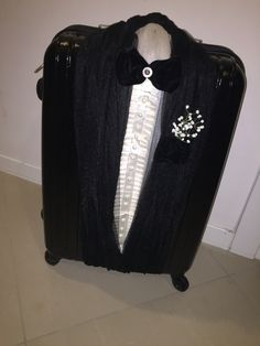Damat bohçası,damat bavulu,bavul süsleme