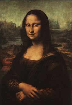 """""""A face is not well done unless it expresses a state of mind."""" quote and painting by Leonardo da Vinci"""