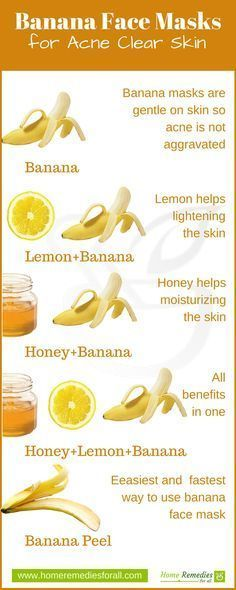 Banana makes some very effective face masks for your skin. Try these 5 face masks to clear your acne and make your skin glow. Banana makes some very effective face masks for your skin. Try these 5 face masks to clear your acne and make your skin glow. Homemade Acne Treatment, Natural Acne Treatment, Skin Treatments, Holistic Treatment, Homemade Face Masks, Homemade Skin Care, Homemade Facials, Organic Skin Care, Skin Care