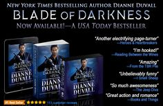 "BLADE OF DARKNESS is Now Available in #paperback, #ebook and #audiobook! Return to the ""utterly addictive"" (RT Book Reviews), ""fast-paced and humorous"" (Publishers Weekly) Immortal Guardians. https://www.amazon.com/gp/product/B073V23CGT/ref=as_li_tl?ie=UTF8&camp=1789&creative=9325&creativeASIN=B073V23CGT&linkCode=as2&tag=dianduva-20&linkId=39e2eb34e792c44bcf85de867b0b12b2 #paranormalromance #romance #action #humor #comedy #mustreads #booklovers"