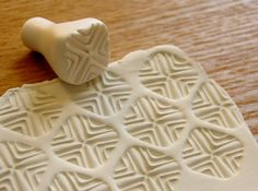 Clay Stamp for your creations by StudioOshi on Etsy
