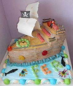 tarta barco-desde fb sin tutorial