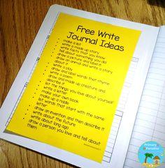 free write list