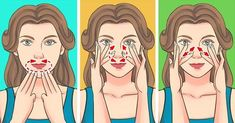 A Japanese Facial Massage That Can Rid You Of Swelling and Wrinkles In 5 Minutes a Day (Famous Supermodels Swear by It) Lulu Hairstyles, Famous Supermodels, Face Exercises, Face Yoga, Face Massage, Upper Lip, Wash Your Face, Triangle Shape, Face Shapes