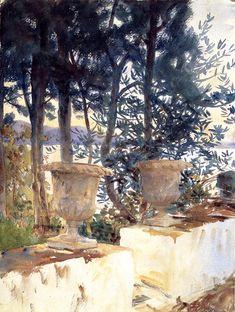Corfu The Terrace, 1909 - John Singer Sargent - WikiArt.org