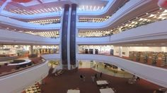 Drone's Eye View of the Toronto Reference Library (YouTube/Toronto Public Library)