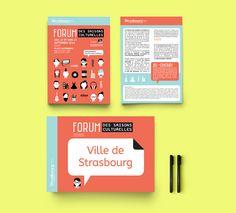 Agence de communication à Strasbourg - Agence Die Drei - Forum Des Saisons Culturelles Strasbourg