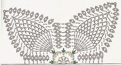 Amei esse centro de mesa! Mais uma criação do Marcelo Nunes. Fiz com barbante nº 6 branco com fio ouro da Cia Textil, e Barroco multicolor...