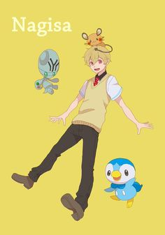 Free! Iwatobi Swim Club crossover Pokemon