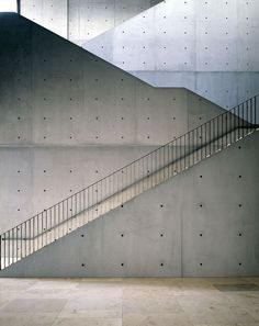 Sichtbeton - Beton.org Stair Railing, Stairs, Interior And Exterior, Concrete, Louvre, Building, Portal, Design, Home Decor