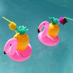 Inflatable Flamingo Coasters