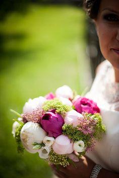 #purple #white #flowers #wedding #bouquet Wedding Bouquet, White Flowers, Fruit, Purple, The Fruit, Wedding Bouquets, Purple Stuff
