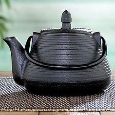 Black Cast Iron Teapot | World Market