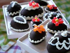 Chocolate Cake Eggs - Pamela's Products