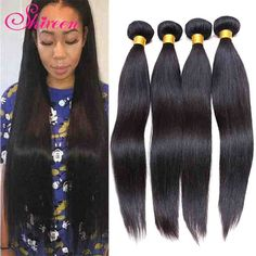 Find More Human Hair Extensions Information about 8A grade brazilian virgin hair…
