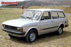 Fiat Panorama clásica camioneta.