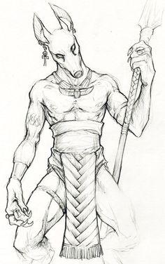 Anubis_by_Childofdune.jpg (708×1129)