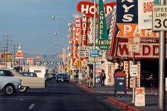 Las Vegas Strip, 1965 — Denise Scott Brown and Robert Venturi