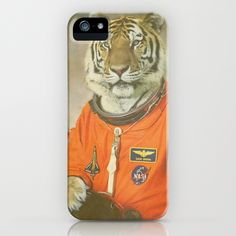 Moon Tiger iPhone Case by Darkhorse | Society6